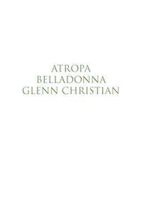 Atropa Belladonna (Klik for at downloade billedet i høj opløsning)