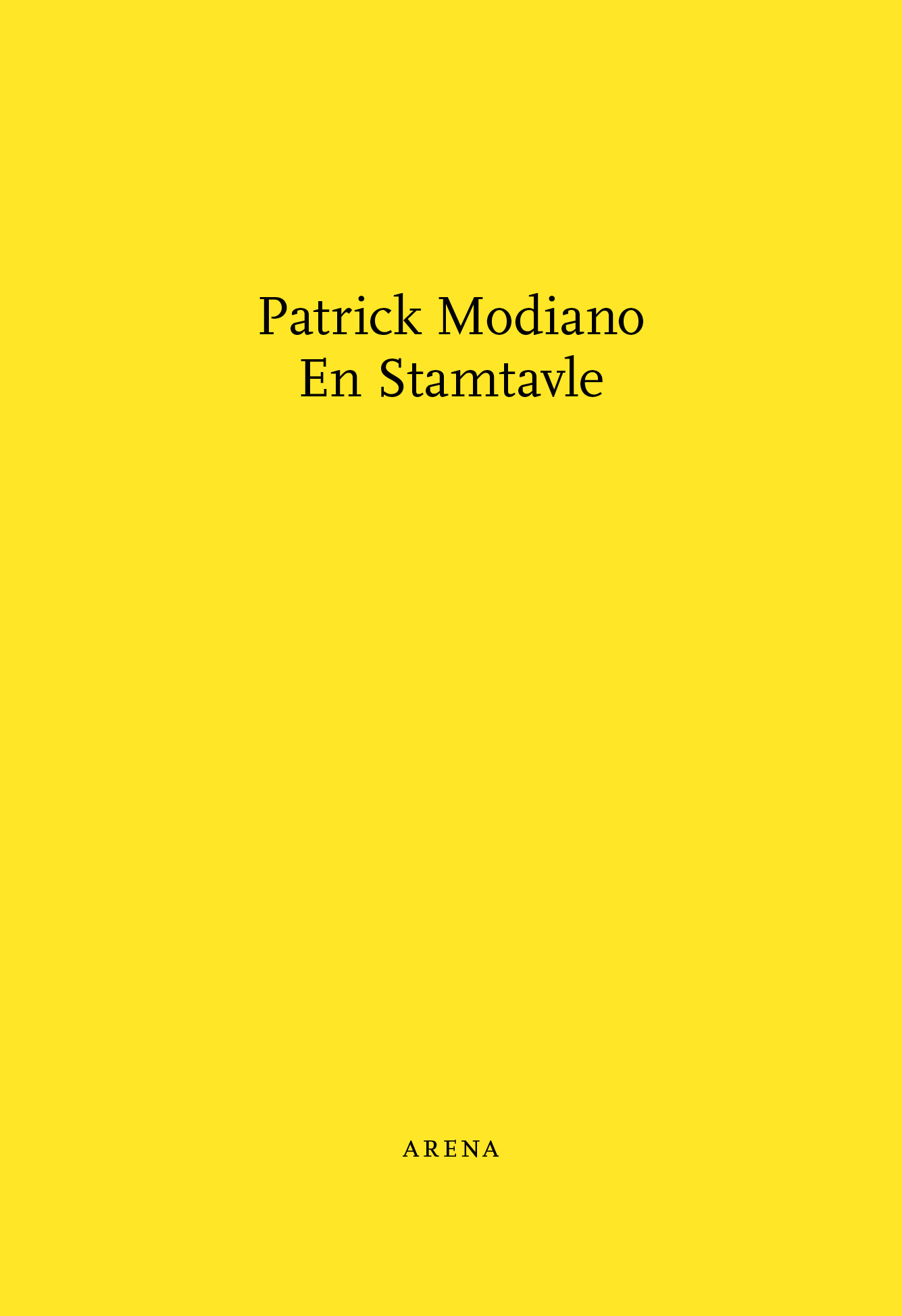 Forside - En Stamtavle